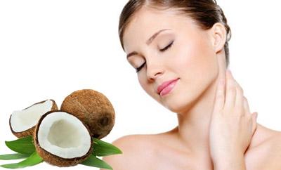 Tinh dầu dừa chăm sóc và dưỡng da hiệu quả