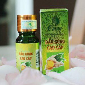 Các công dụng của tinh dầu cao cấp gừng nguyên chất tăng cường bảo vệ sức khỏe