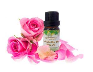 Các tác dụng của tinh dầu cao cấp hoa hồng với sức khỏe