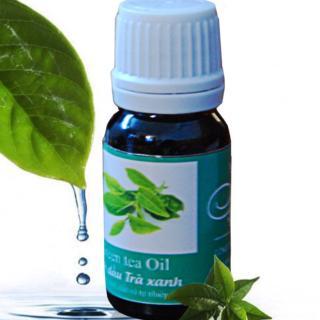 Bí quyết trị sẹo mụn với tinh dầu cao cấp trà xanh nguyên chất