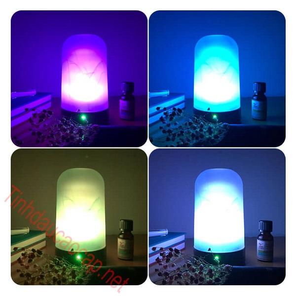 Máy khuếch tán tinh dầu nhiều màu đèn led khác nhau