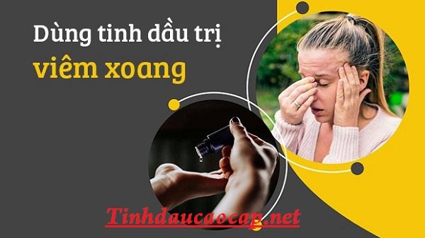 Điều trị viêm xoang tại nhà bằng liệu pháp mùi hương